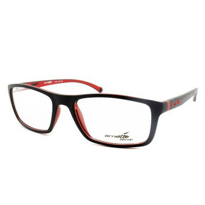Arnette AN7038L 2294 55 - Matte Black/Red,ARNETTE