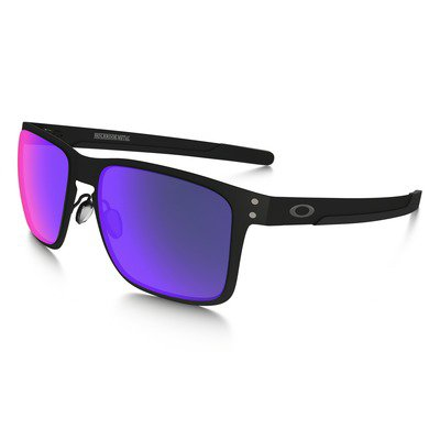 Oakley Holbrook Metal OO4123-0255 - Matte Black/Positive Red Iridium,OAKLEY