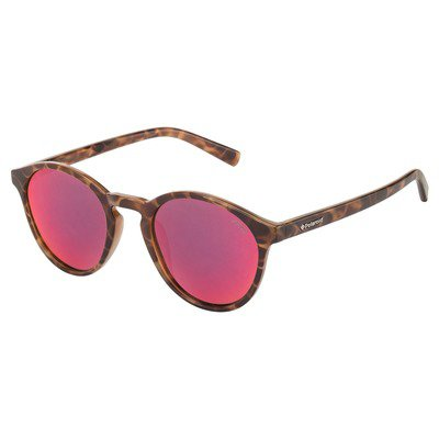 Polaroid PLD6013S PPT OZ 50 Trendy - Havana/Red Mirror Polarized,POLAROID