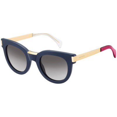 Tommy Hilfiger TH1379/S QE4 EU 49 - Blue/Gold,TOMMY HILFIGER