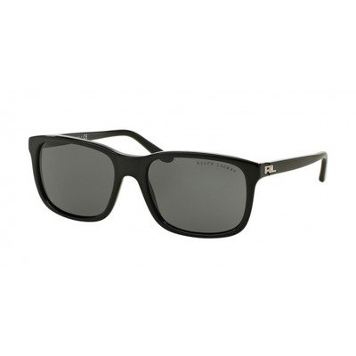 Ralph Lauren RL8142 500187 56 - Shiny Black/Gray,RALPH LAUREN