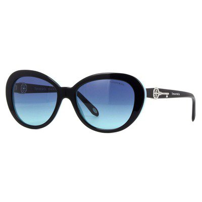 Tiffany & Co TF4118B 80559S 55 - Preto/Azul,Tiffany & Co.