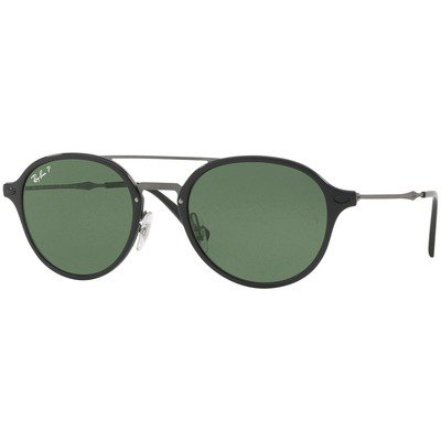 Ray-Ban RB4287 601/9A 55 - Black/Polarized Green Classic G-15,Ray-Ban