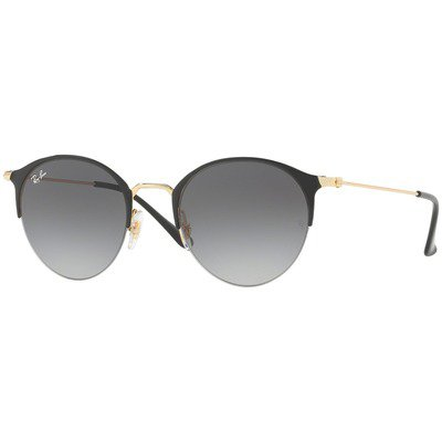 Ray-Ban RB3578 187/11 50 Round - Black-Gold/Grey Gradient,Ray-Ban