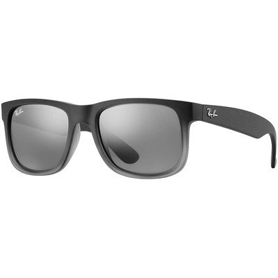 Ray-Ban RB4165 852/88 55 Justin - Grey/Silver Gradient Mirror,Ray-Ban
