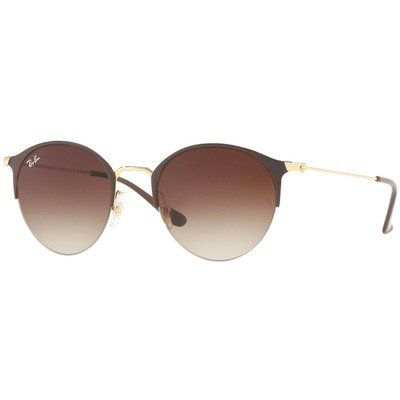 Ray-Ban RB3578 900913 50 Round - Brown-Gold/Brown Gradient,Ray-Ban