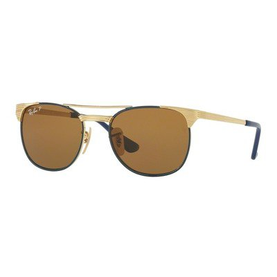 Ray-Ban Junior RJ9540S 260/83 49 - Gold/Top Blue Polarized,Ray-Ban