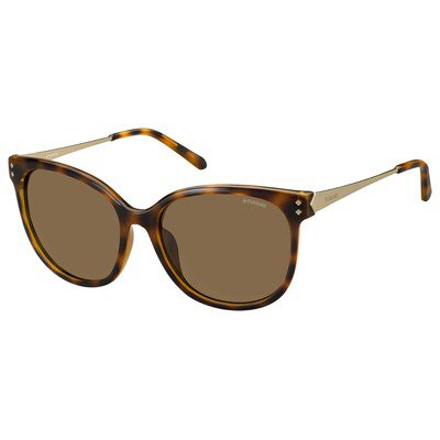 Polaroid PLD4048S R8V IG 56 Contemporary - Havana/Brown Polarized,POLAROID