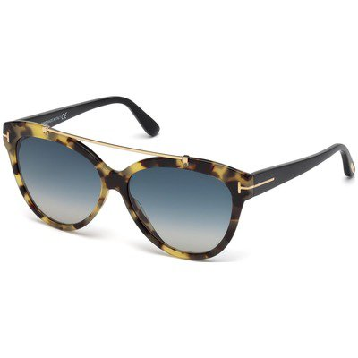 Tom Ford Livia FT0518 56W 58 - Havana/Blue Gradient,TOM FORD