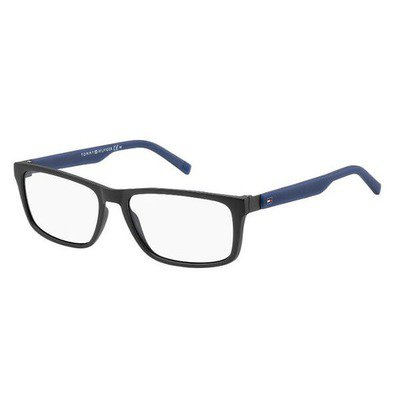 Tommy Hilfiger TH1404 R5Y 55 - Matte Black/Blue,TOMMY HILFIGER