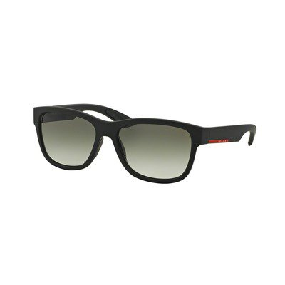 Prada Linea Rossa PS03QS DG00A7 57 - Black Rubber/Gray Gradient,PRADA
