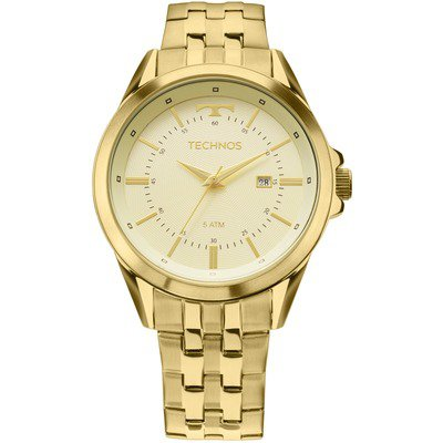 Technos Executive 2115KZC/4X - Dourado,Technos