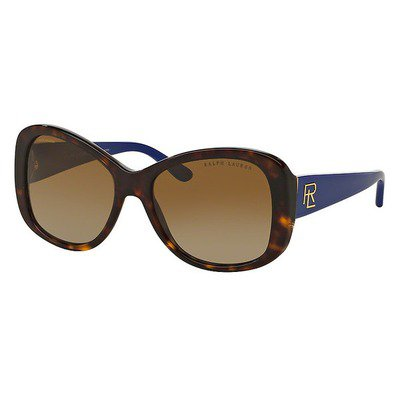 Ralph Lauren RL8144 5003T5 56 - Shiny Dark Havana/Brown Gradient Polarized,RALPH LAUREN
