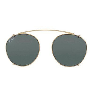 Ray-Ban Clip On RX2180C 250071 49 - Gold/Green,Ray-Ban