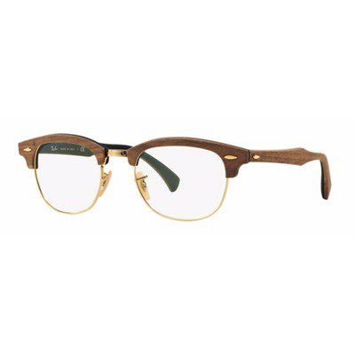 Ray-Ban RB5154M 5560 51 Clubmaster Wood - Brown,Ray-Ban