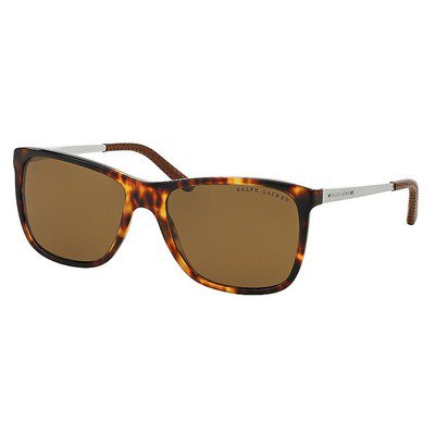 Ralph Lauren RL8133Q 535183 57 - Havana/Brown Polarized,RALPH LAUREN