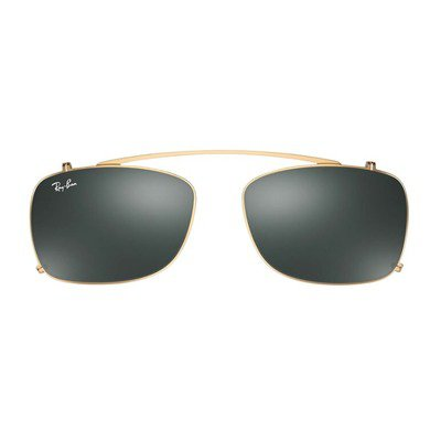 Ray-Ban Clip On RX5228C 250071 53 - Gold/Green,Ray-Ban