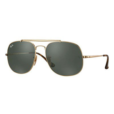 Ray-Ban RB3561 001 57 The General - Gold/Green Classic,Ray-Ban