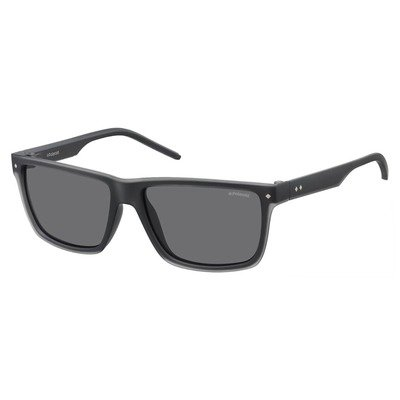 Polaroid PLD2039S MNV Y2 57 Contemporary - Gray/Gray Polarized,POLAROID