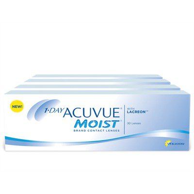 1-Day Acuvue Moist Combo 4 Caixas ,Acuvue Johnson e Johnson