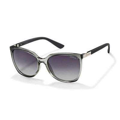 Polaroid P8440 09G IX 57 Contemporary Hero - Gray/Gray Polarized,POLAROID
