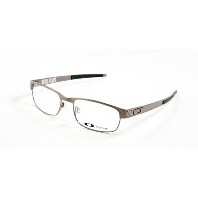 Oakley Metal Plate OX5038-0655 - Brushed Chrome,OAKLEY