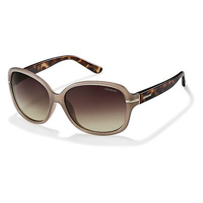 Polaroid P8419 10A LA 58 Classic Hero - Beige Tortoise/Brown Polarized,POLAROID