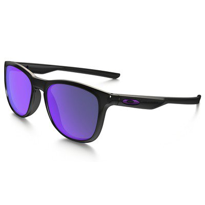 Oakley Trillbe X OO9340-03 52 - Polished Black Ink/Violet Iridium Polarized,OAKLEY