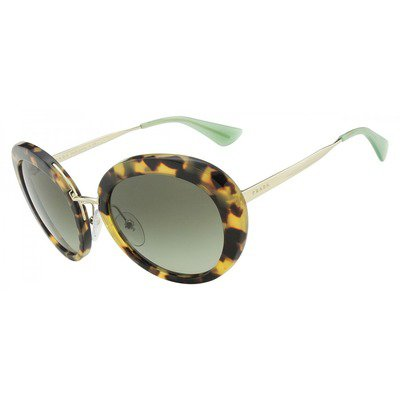 Prada Cinema PR16QS 7S04M1 55 - Medium Havana/Green Gradient,PRADA