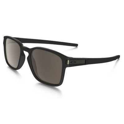Oakley Latch Sq OO9353-01 5219 - Matte Black/Warm Grey,OAKLEY