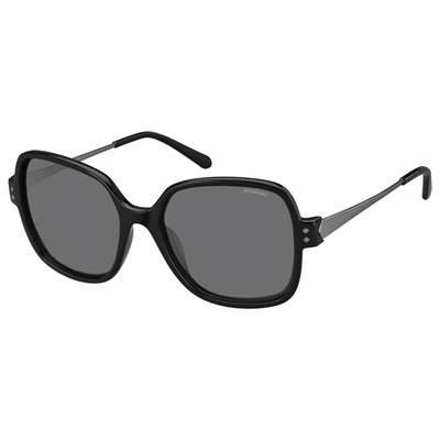 Polaroid PLD4046S CVS Y2 55 Contemporary - Black/Gray Polarized,POLAROID