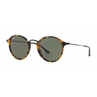 Ray-Ban RB2447 1157 52 Round - Tortoise/Green G15,Ray-Ban