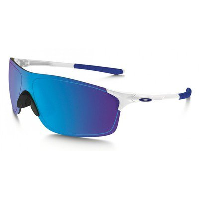 Oakleu Evzero Pitch OO9383 0238 - Polished White/Sapphire Iridium,OAKLEY