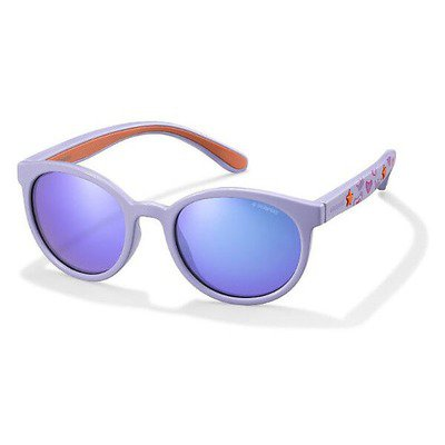Polaroid PLD8014S QNV MF 46 Kids - Lilac/Gray Polarized,POLAROID