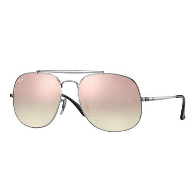 Ray-Ban RB3561 003/7O 57 The General - Silver/Copper,Ray-Ban