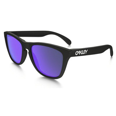Oakley Frogskins OO9013 24-298 55 - Matte Black/Violet Iridium,OAKLEY
