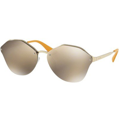 Prada PR64TS ZVN1C0 66 - Pale Gold/Gold Brown Mirror,PRADA