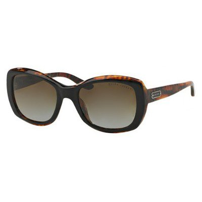 Ralph Lauren RL8132 5260T5 55 - Top Black Havana/Brown Gradient Polarized,RALPH LAUREN