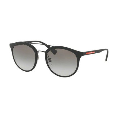 Prada Linea Rossa PS04RS DG00A7 54 - Black Rubber/Gray Gradient,PRADA