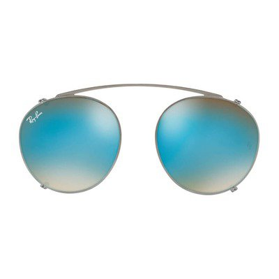 Ray-Ban Clip On RX2180C 2502B7 49 - Gunmetal Grey/Blue Gradient Mirror,Ray-Ban