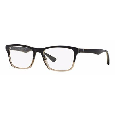 Ray-Ban RB5279 5540 53 Highstreet - Preto Degradê,Ray-Ban