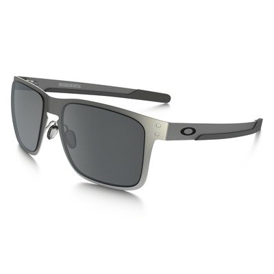 Oakley Holbrook Metal OO4123-0355 - Satin Chrome/Black Iridium,OAKLEY
