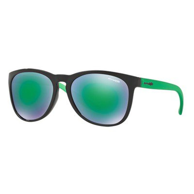 Arnette Go Time AN4227 23823R 57 - Gloss Black/Light Green Mirror,ARNETTE