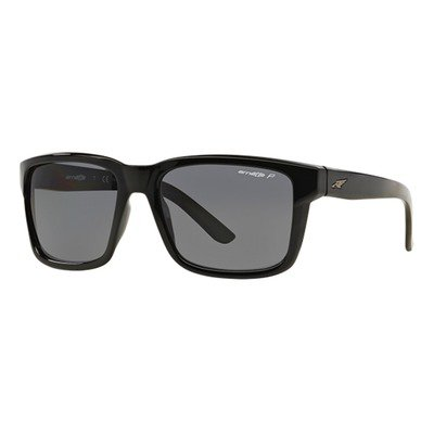 Arnette Swindle AN4218 41/81 57 - Gloss Black/Gray Polarized,ARNETTE