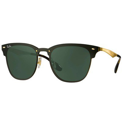 Ray-Ban Blaze Clubmaster RB3576N 043/71 47 - Gold/Green Classic,Ray-Ban