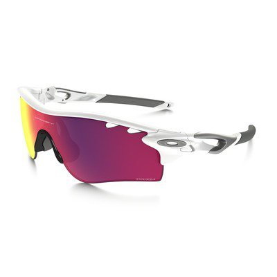 Oakley Radarlock Path OO918140 0138 - Polished White/Prizm Road Persimmon,Ray-Ban