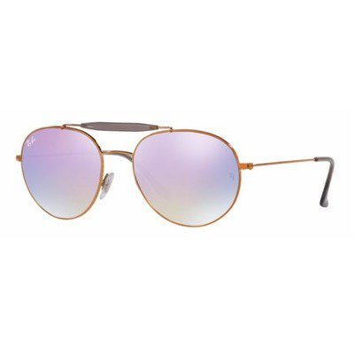 Ray-Ban RB3540 198/7X 56 Aviator - Bronze/Lilac Gradient Flash,Ray-Ban