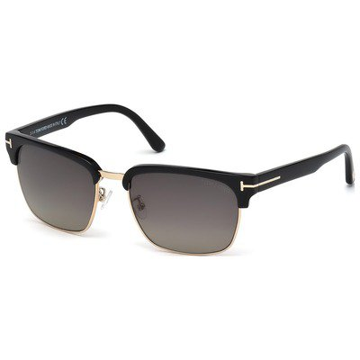 Tom Ford River FT0367 01D 57 - Black/Grey Polarized,TOM FORD
