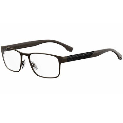 Hugo Boss BOSS 0881 OJN 54 - Matte Dark Brown/Carbon,BOSS by HUGO BOSS