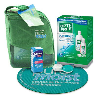 Kit Opti-Free Pure Moist 420ml,Alcon/Ciba Vision